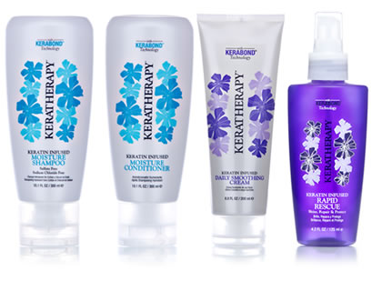 Keratherapy™ Shampoo, Conditioner Daily Smoothing Cream and Root Boost Volumizer at Off Center Salon West Hartford