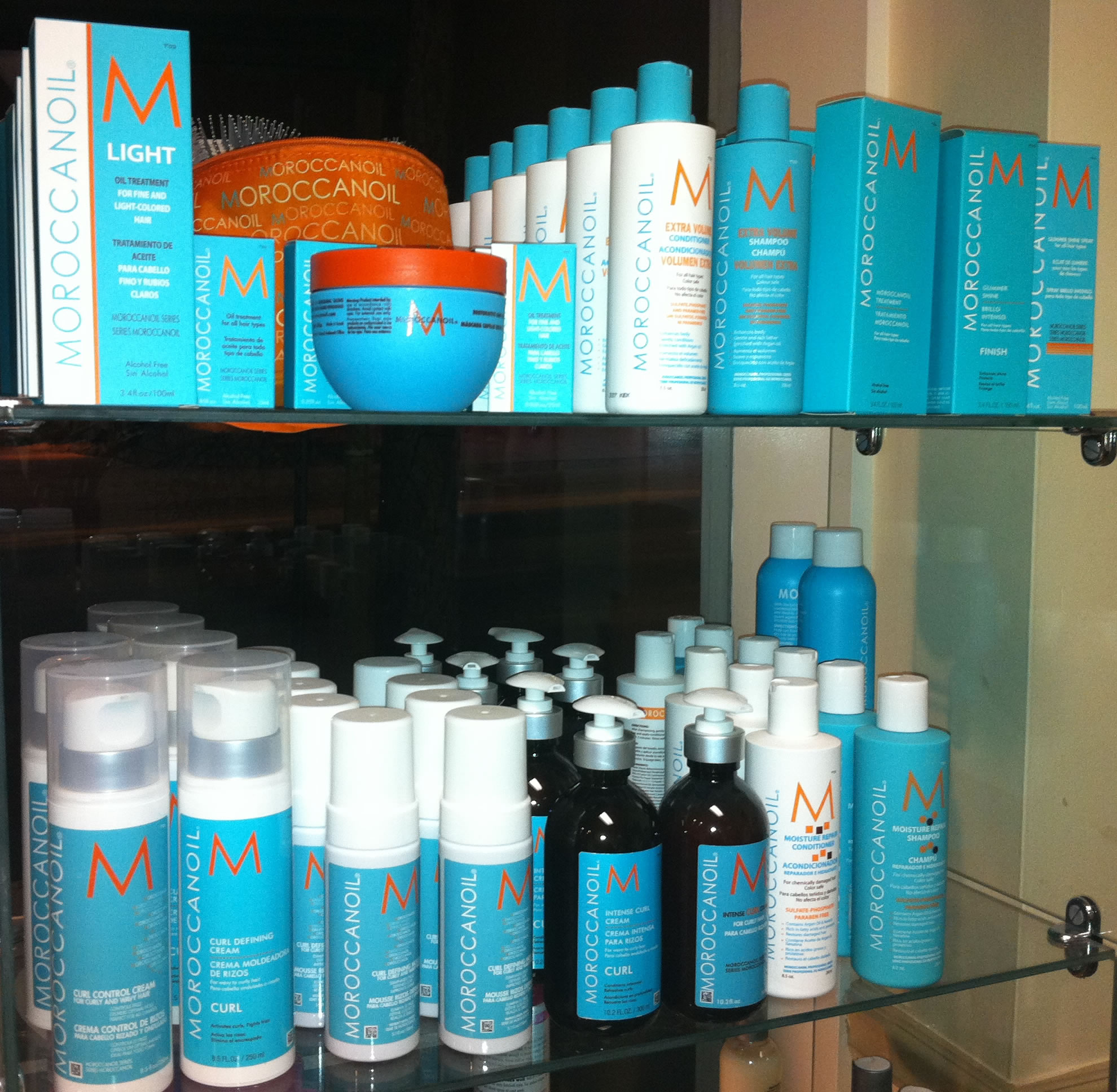 Off Center Hair Salon and Spa Moroccan Oil Salon Hair Products, West Hartford, CT