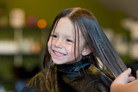Haircut and Style for Children at Off Center Salon West Hartford CT