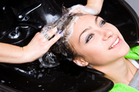 Shampoo and Blow Dry for Women and Men at Off Center Salon West Hartford CT