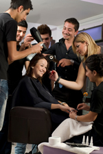 Pamper your group or a special friend with an Off Center Salon party