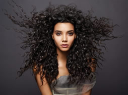 Curly or Straight?  Change to what you want at Off Center Salon West Hartford